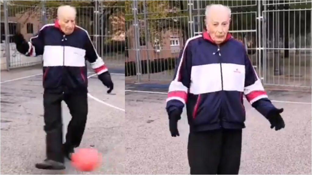 """La historia de Satur, el jugador de fútbol vallecano de 89 años: """"Si uno no es equilibrado, acaba arrugado"""""""