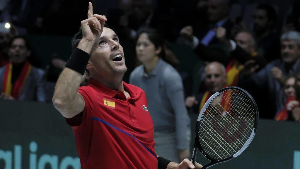 La promesa de Roberto Bautista a su padre fallecido: Recuperará la sonrisa casándose siete días después de ganar la Davis