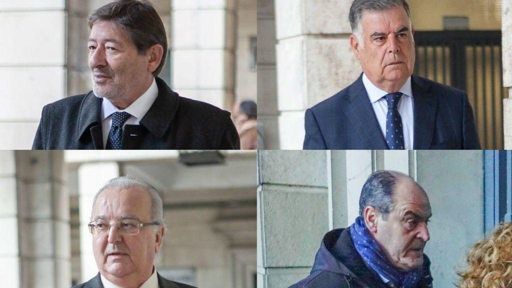 Cuatro condenados en el juicio de los ERE conocerán este jueves si ingresan ya en la cárcel