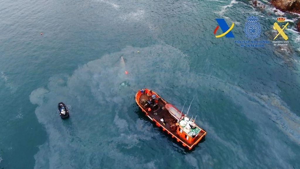 El 'narcosubmarino' fue hundido por los propios narcotraficantes