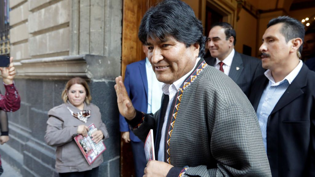 "Evo Morales "" he recibido la notificación de Interpol"""