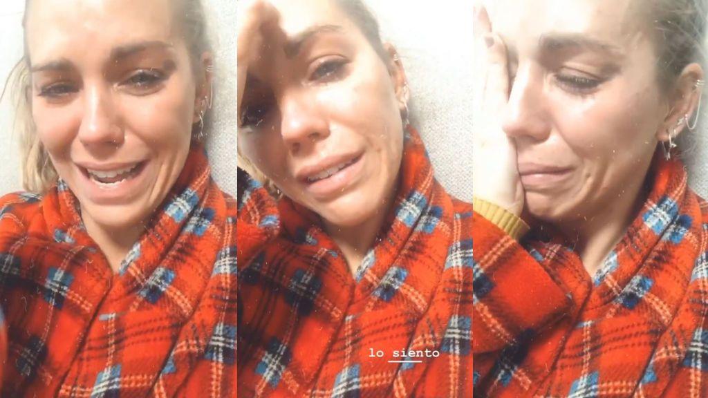 """Yoli 'GH' rompe a llorar frente a la cámara: """"Estoy hasta las narices"""""""