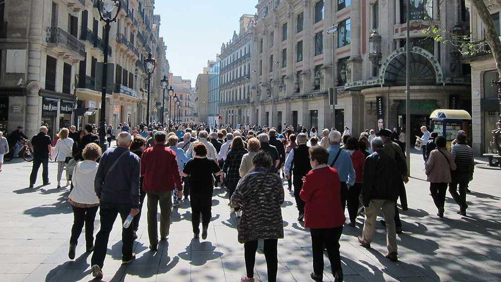 Los viajes del Imserso caen hasta un 40% en Cataluña, tras los disturbios del procés