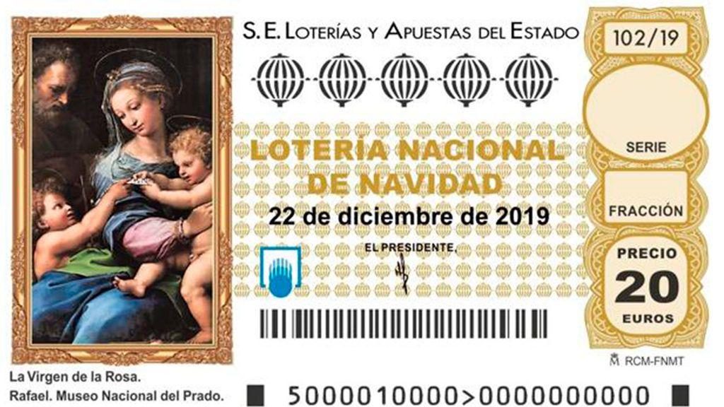 Cuadros del Prado que inspiraron décimos de lotería