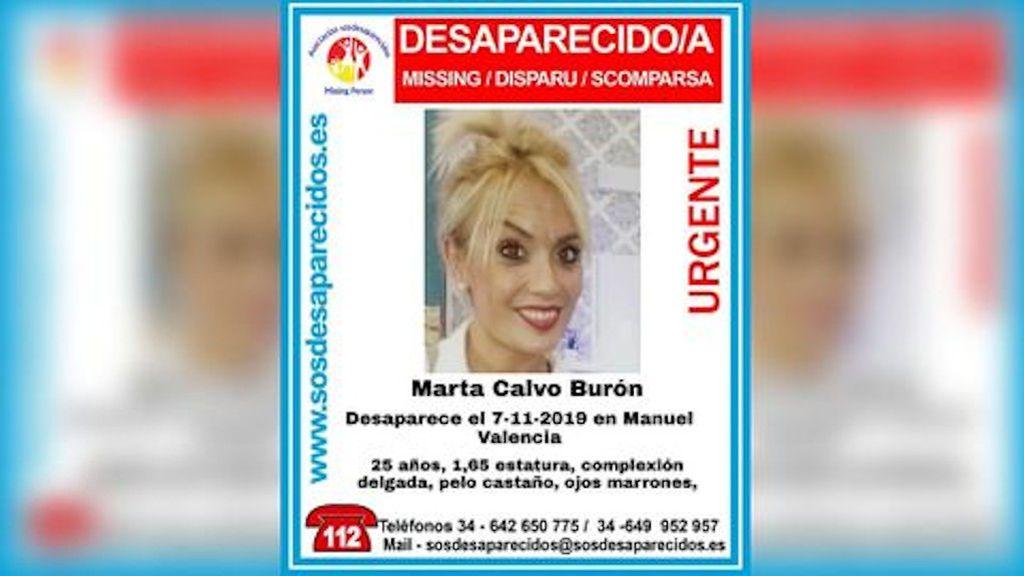 Cartel Marta Calvo