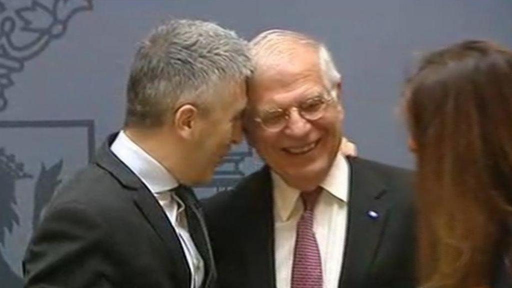En directo: Borrell se despide del ministerio de Asuntos Exteriores