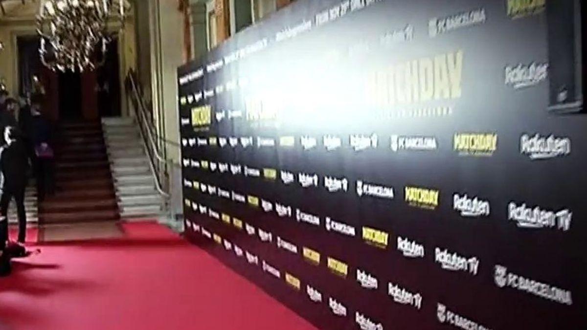 El plantón  y la polémica de los jugadores del FC Barcelona en la presentación de su documental 'MatchDay'