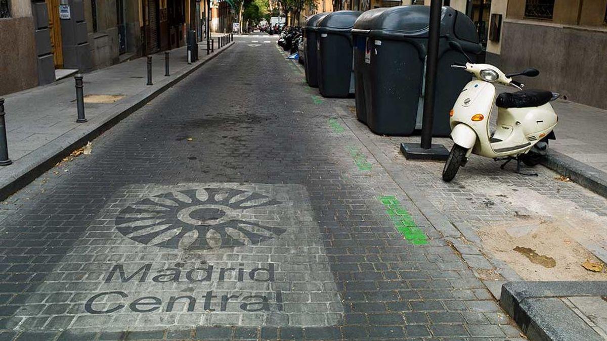 Madrid Central reduce la contaminación un 20% tras un año de Madrid Central