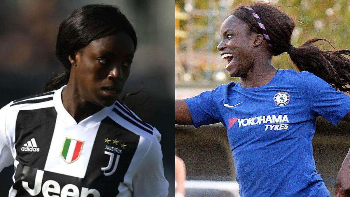 La jugadora de la Juventus que tuvo que volver a Inglaterra por culpa del racismo italiano