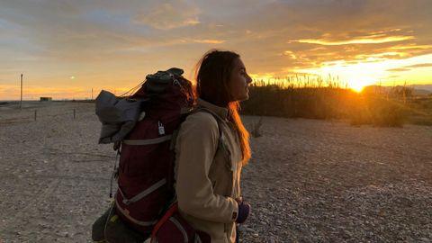 Una Joven Recorre A Pie 5 400 Kilómetros Por España Nius