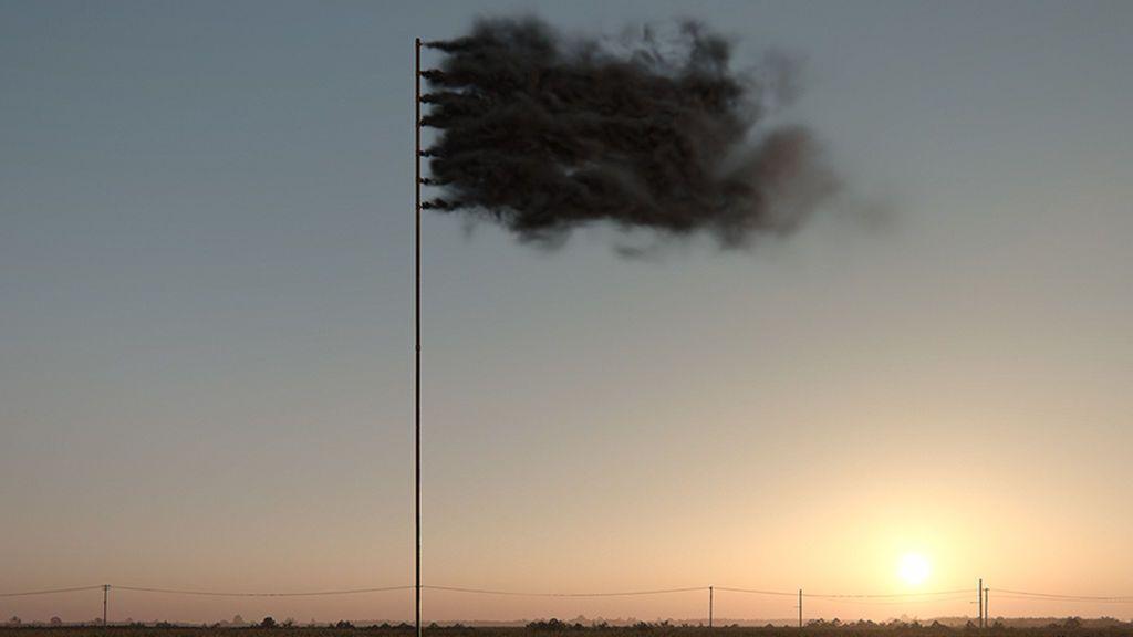 La bandera que simboliza el cambio climático