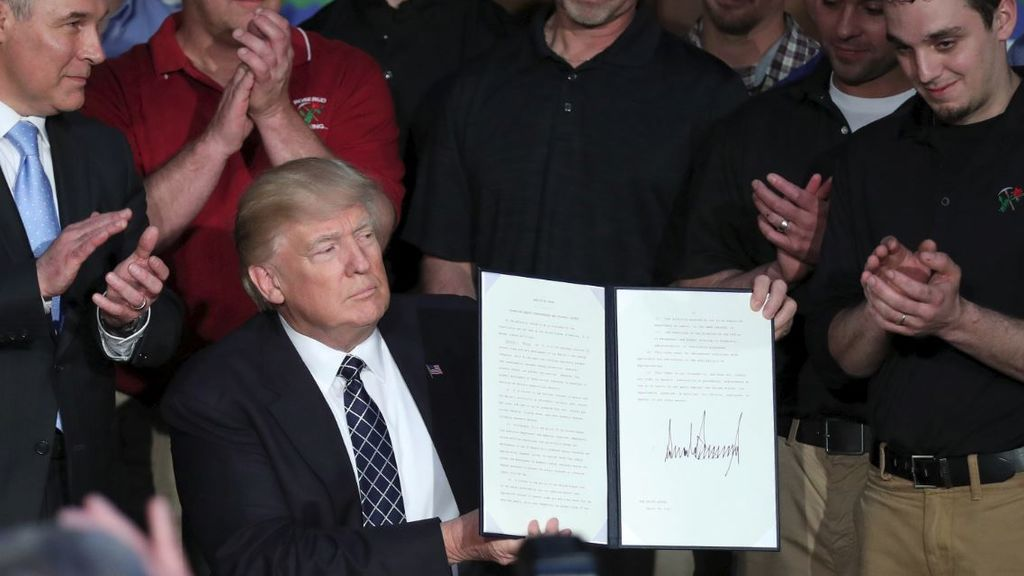 El portazo de Trump a la lucha contra el cambio climático
