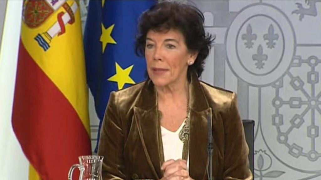 En directo: rueda de prensa tras el Consejo de Ministros