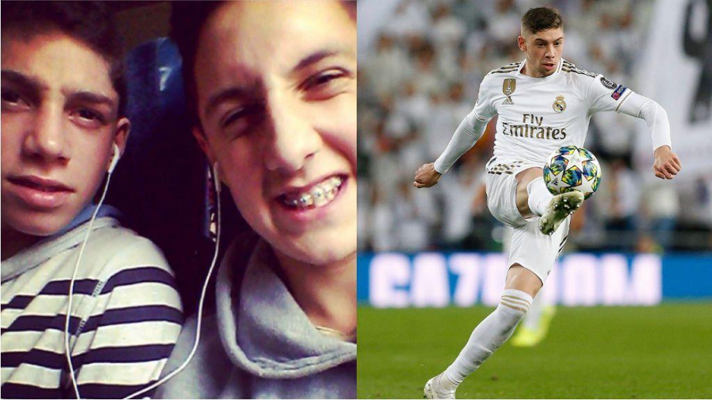 """La broma de una amigo de la infancia a Fede Valverde: """"Te prestaba el auricular y ahora vales 750 millones"""""""