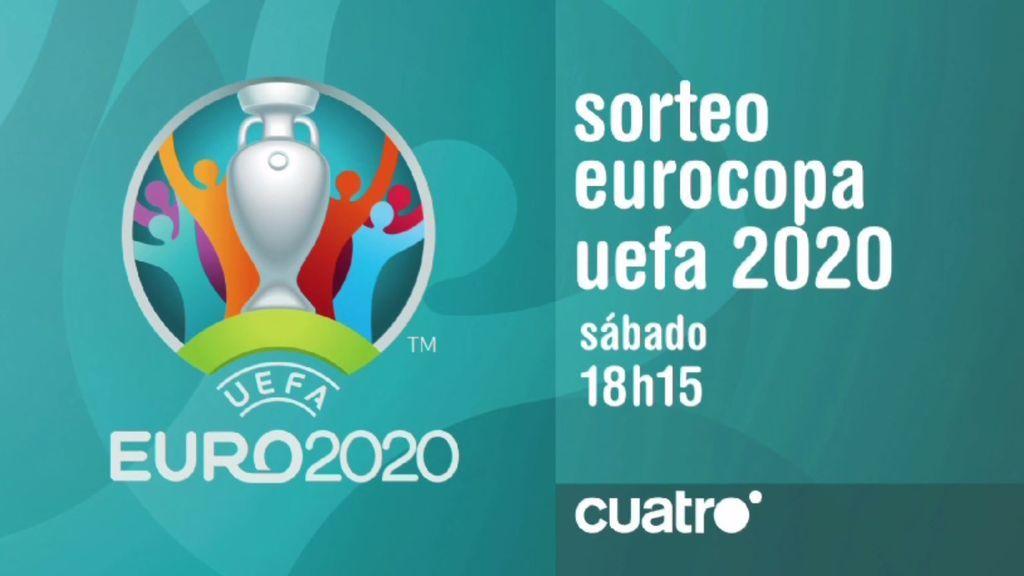 El sorteo de la Eurocopa 2020, en directo en Cuatro