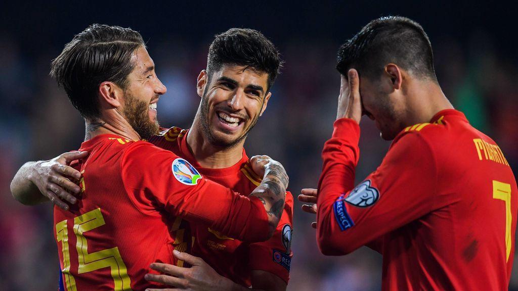 España, al GRUPO E con Polonia, Suecia y una selección que saldrá de la repesca