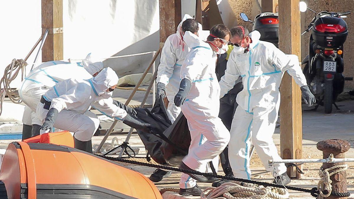 Recuperan a 47 metros de profundidad los cuerpos sin vida de siete migrantes cerca de Lampedusa