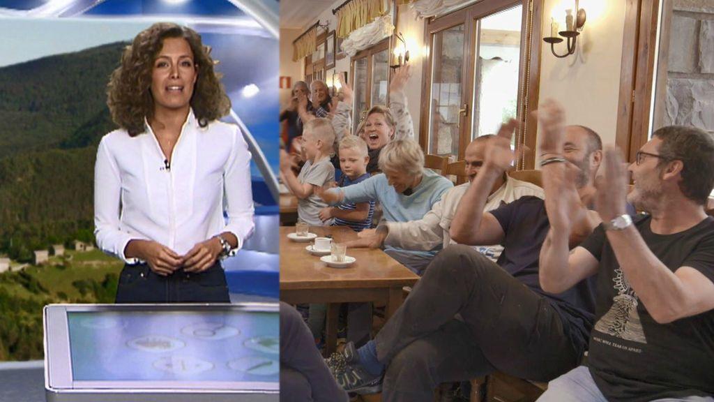 Informativos Telecinco cumple el sueño de Ordesa: primera vez reciben información metereológica