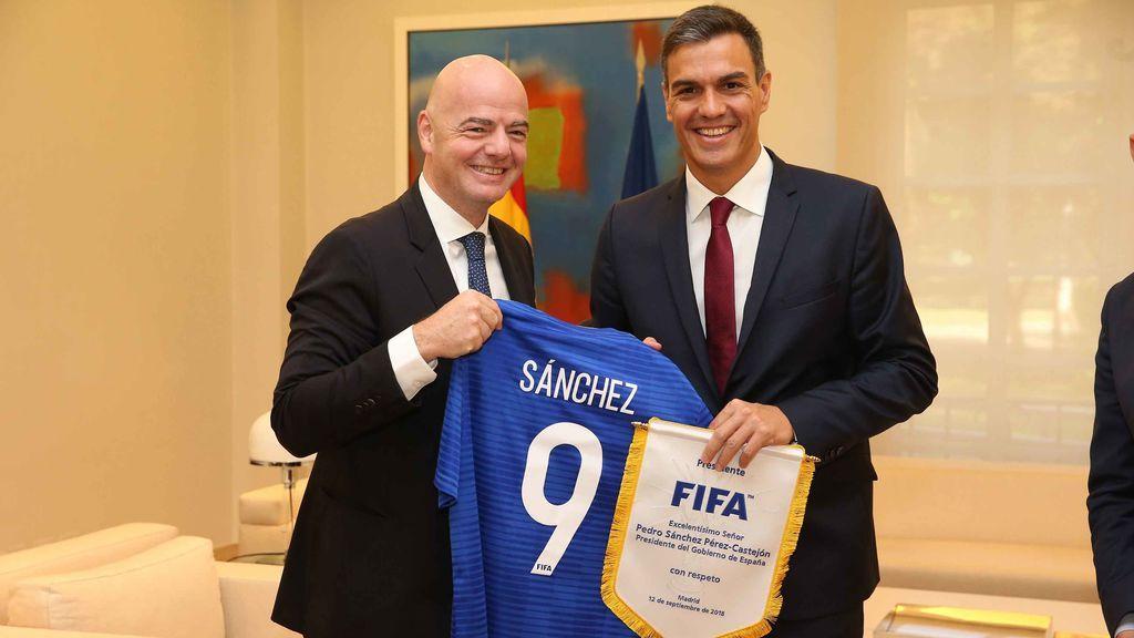 Pedro Sánchez invitará a los mandatarios que estén el domingo en Madrid al partido del Atlético de Madrid