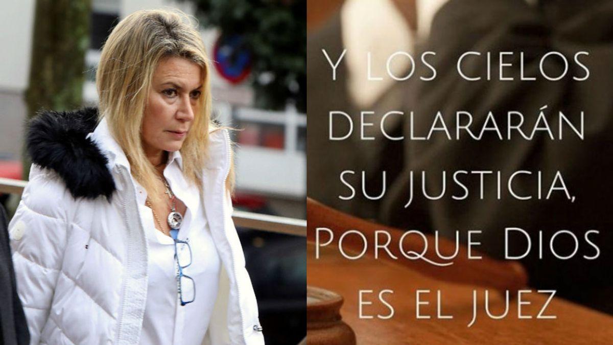 """Mensaje en las redes de la madre de Diana Quer: """"Y los cielos declararán su justicia, Dios es el juez"""""""