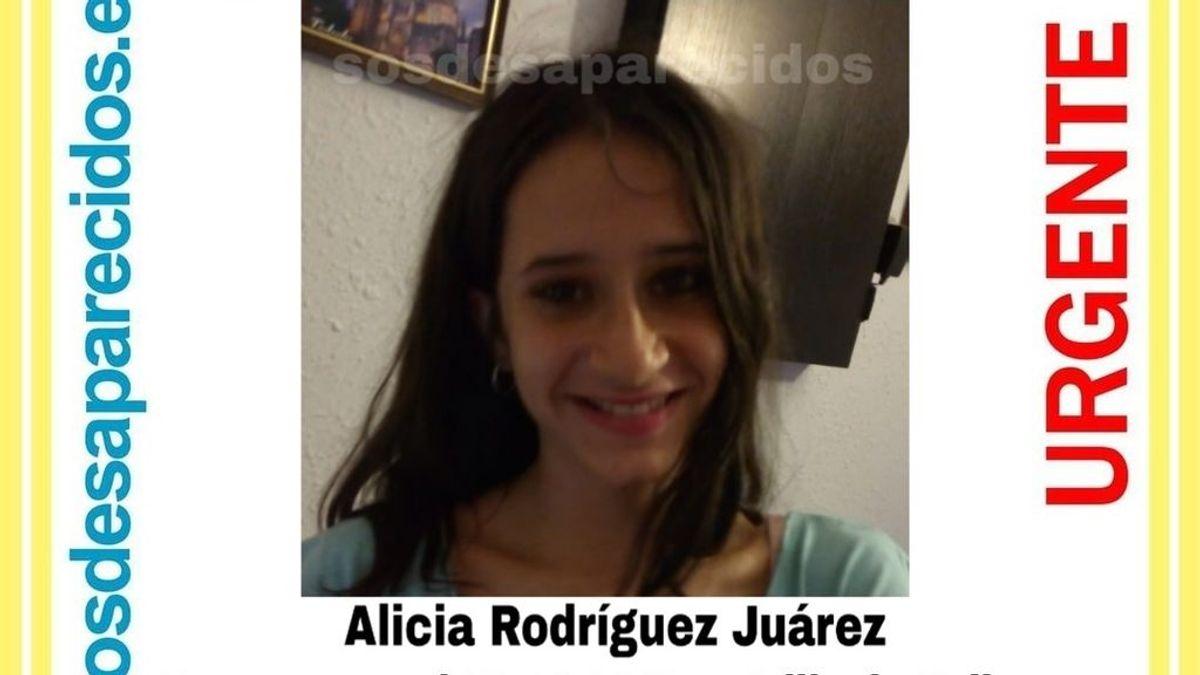 Buscan a Alicia Rodriguez, de 15 años, desaparecida desde el 29 de noviembre en Villa de Vallecas, Madrid