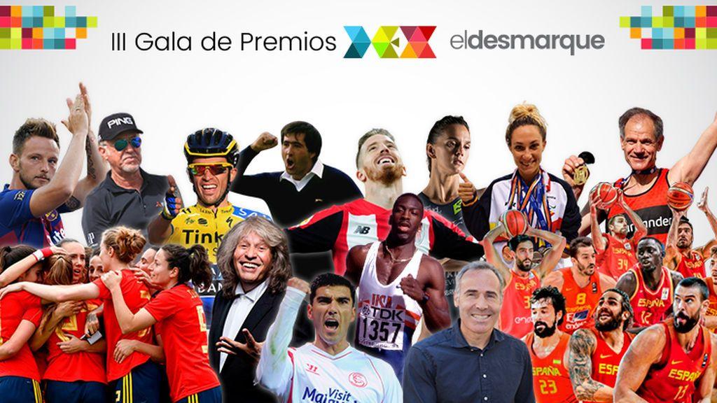ElDesmarque celebra su III Gala de los Premios DEX