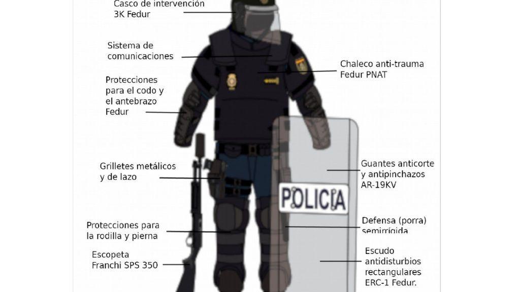 El manual de la protesta violenta contra la Cumbre del Clima en Madrid