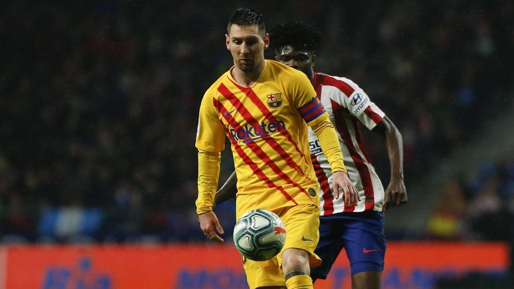 Messi resuelve in extremis ante el Atlético para darle al Barça los tres puntos (1-0)