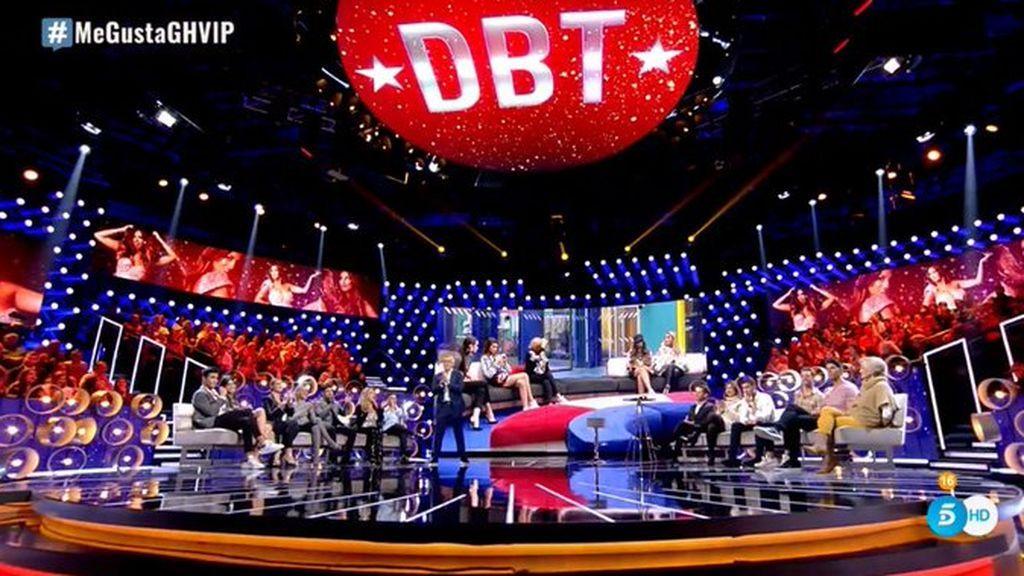 Telecinco lidera el domingo con 'GH VIP: el debate' y sus dos ediciones de informativos como lo más visto del día