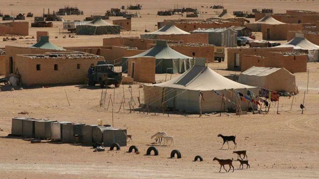 Campamento saharaui de Tinduf
