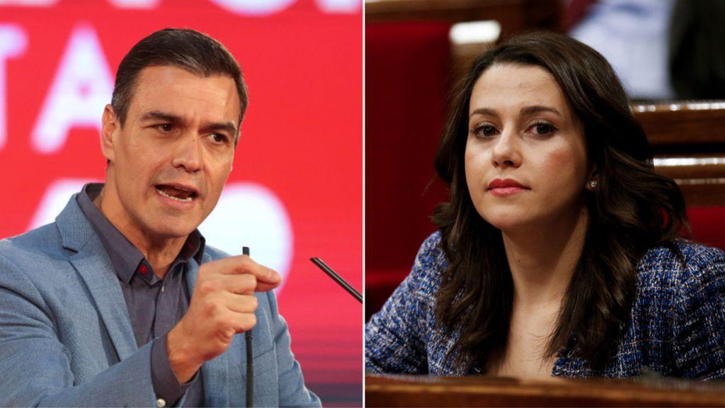 """Pedro Sánchez se reunirá con Inés Arrimadas """"en los próximos días"""""""