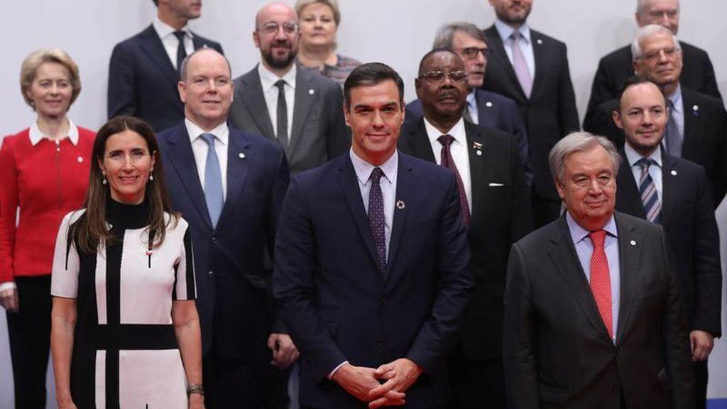 """Sánchez y representantes de medio centenar de países llaman a la """"acción inmediata"""" en el COP25"""