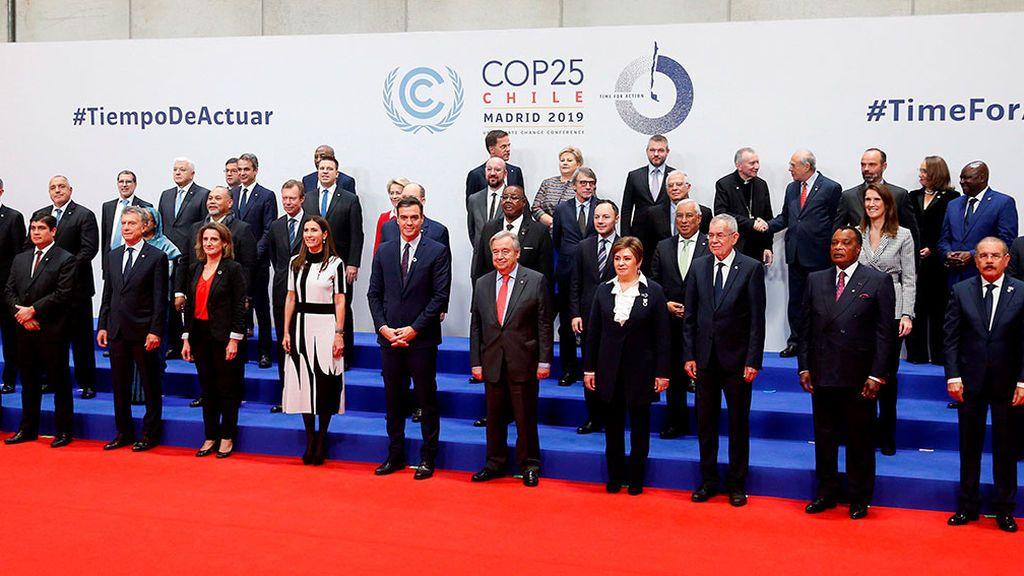 """Inaugurada la Cumbre del Clima en Madrid: """"Solo un puñado de fanáticos niega la evidencia"""""""