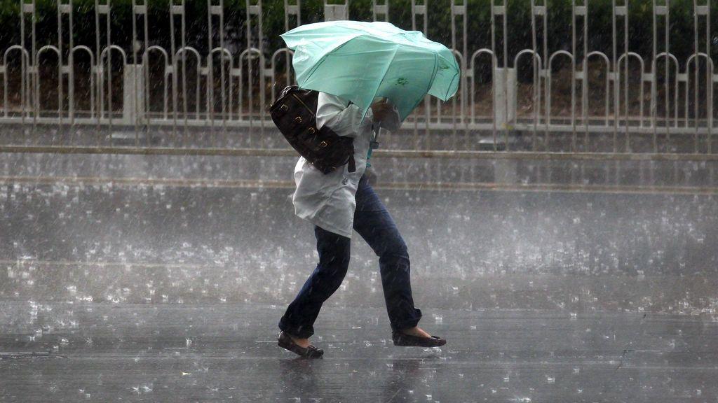Aviso naranja por lluvias: se podrán acumular 200 litros/m2 en el Mediterráneo