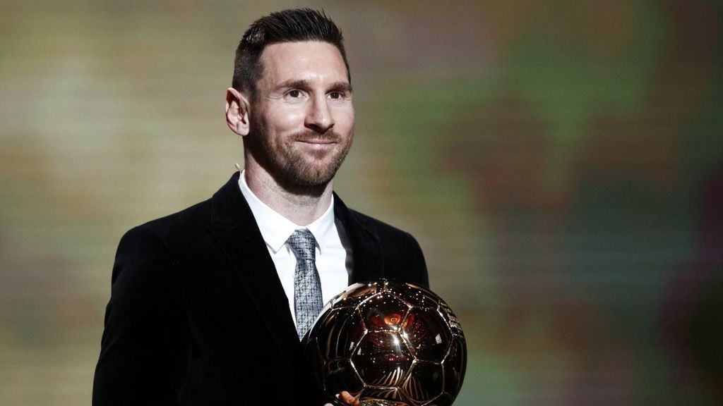 Messi gana su sexto Balón de Oro y rompe el empate con Cristiano Ronaldo
