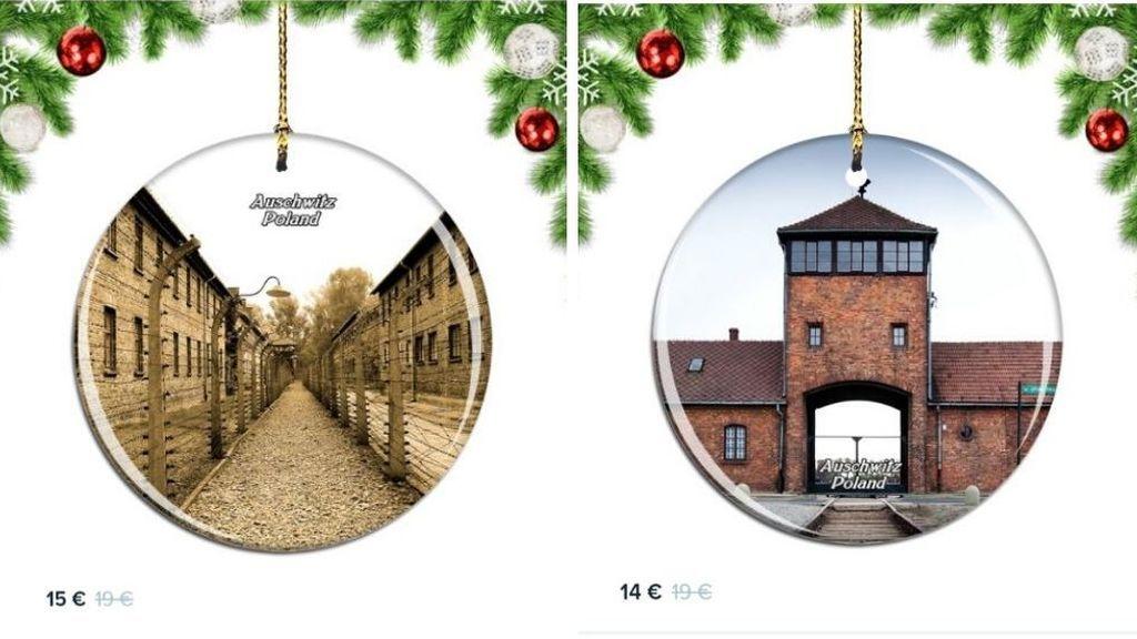 Las críticas obligan a Amazon a retirar adornos navideños con imágenes de Auschwitz