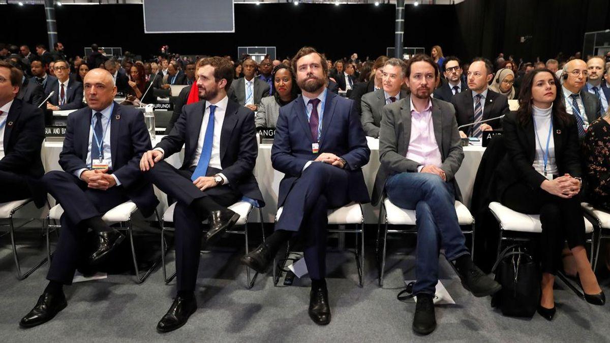 Cambio climático: qué opinan de él Felipe VI, Sánchez y Vox