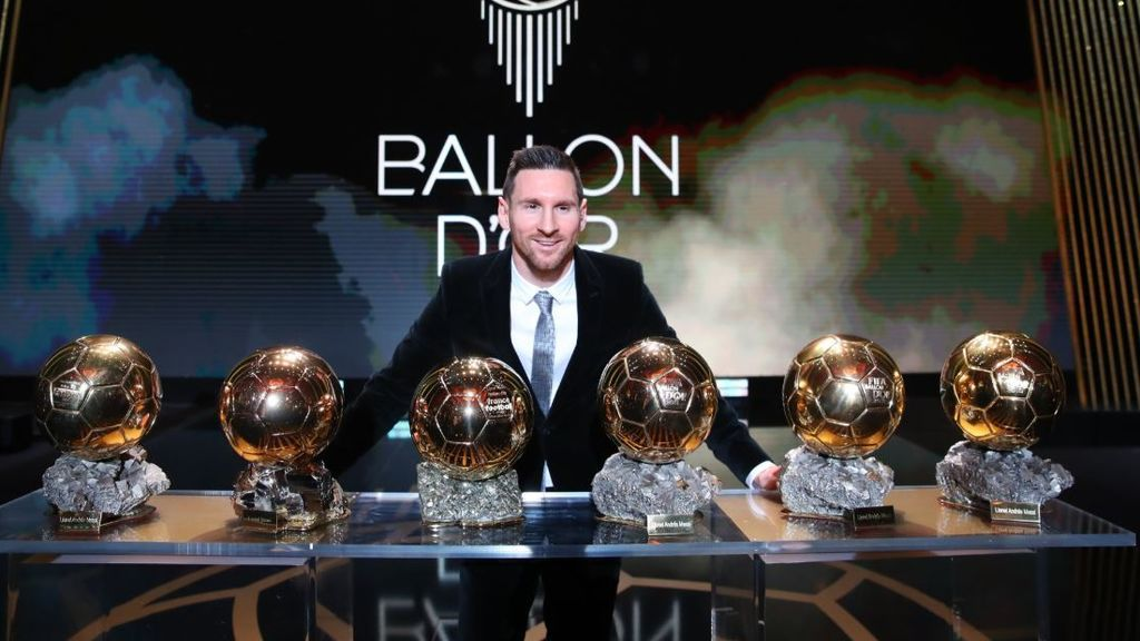 """Messi, tras ganar el Balón de Oro: """"Disfruto más de estos momentos porque la retirada está cerca"""""""