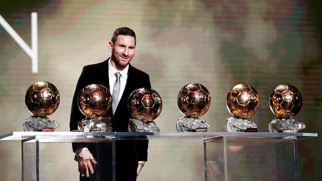 Messi adelanta a Cristiano y consigue su sexto balón de oro