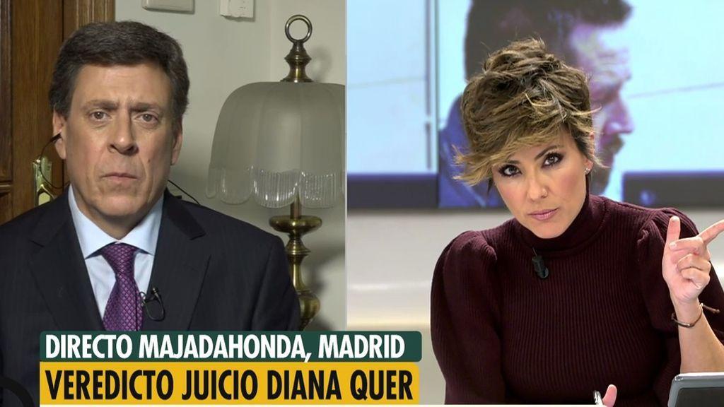 """Juan Carlos Quer: """"Estoy desafortunadamente convencido de que la violó"""""""
