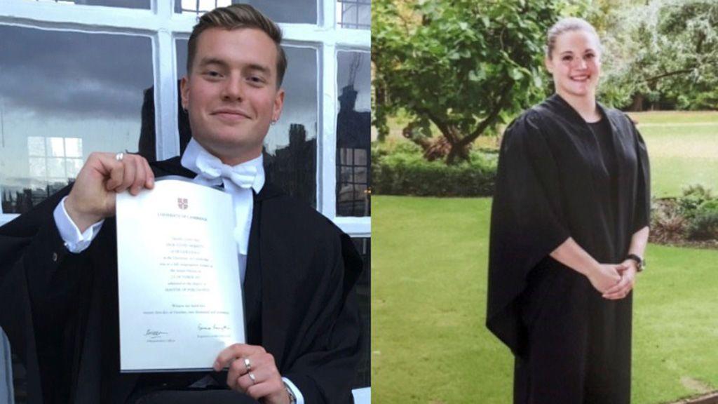 Vigilia por las dos víctimas mortales de Londres