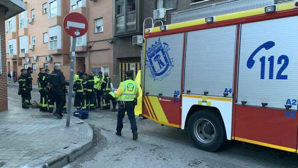 Muere una mujer por inhalar el humo de un incendio en su casa durante toda la noche