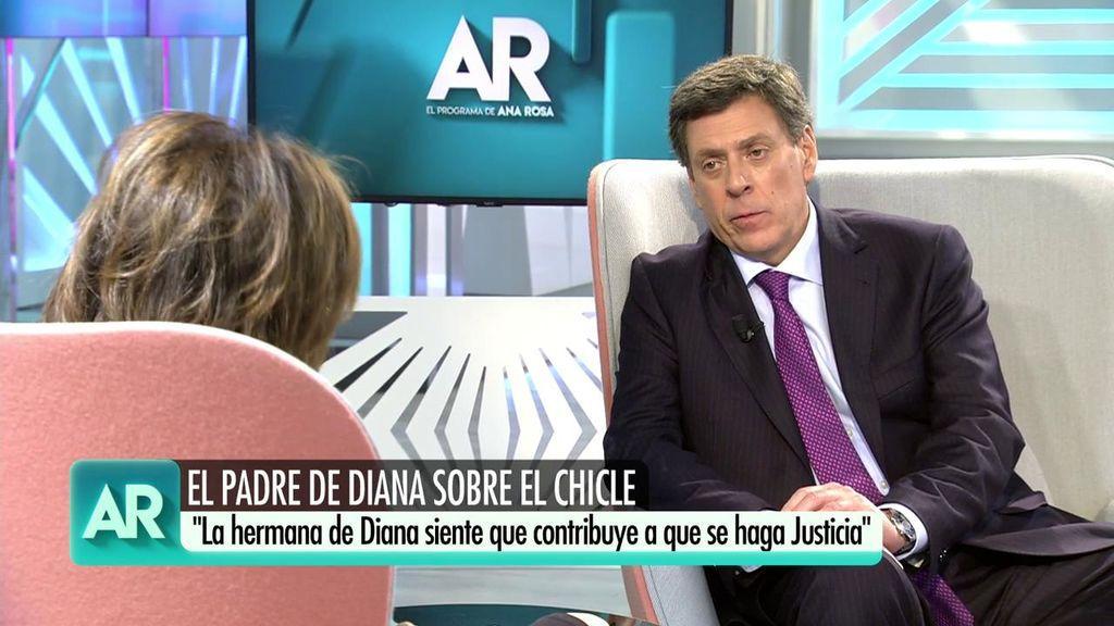 """Juan Carlos Quer, a Ana Rosa: """"Agradezco el rigor y el respeto que han tenido por Diana y Valeria"""""""