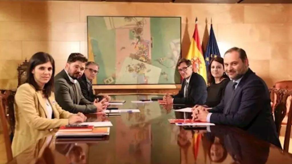 Finaliza en encuentro entre PSOE y ERC, admitiendo avances