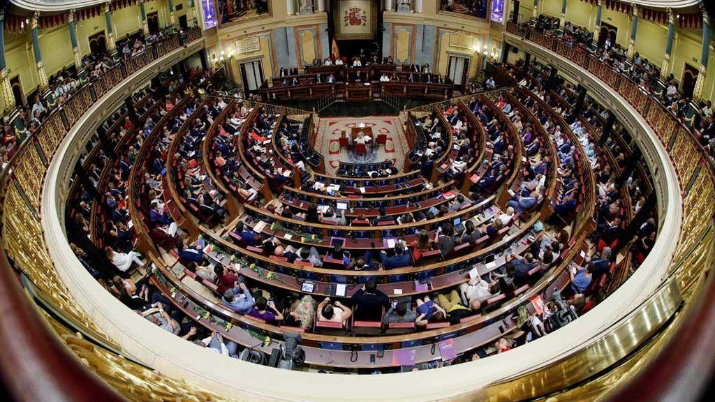 En directo: primera sesión de la Legislatura en el Congreso