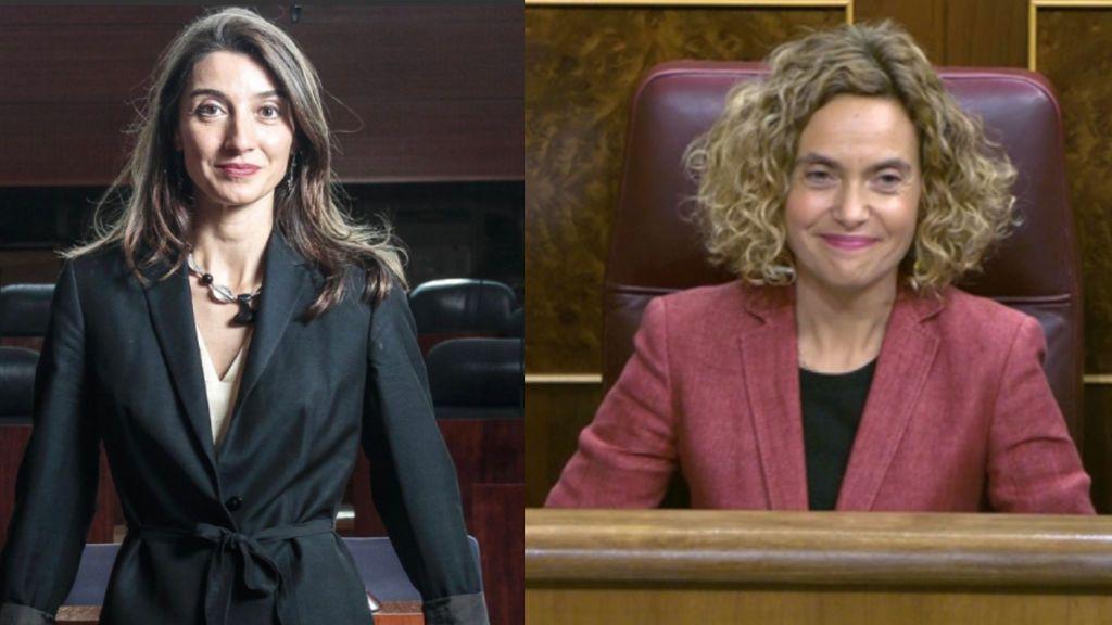 Pilar Llop y Meritxell Batet presidirán el Senado y el Congreso