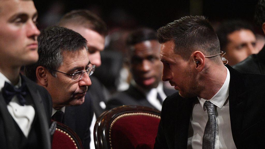El Barça empieza a prepararse para la retirada de Messi tras sus palabras en la gala del Balón de Oro