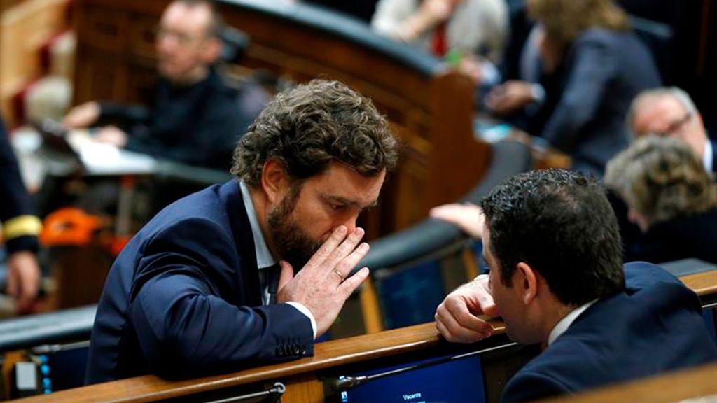 PP y Vox comienzan la legislatura a tortazo limpio a cuenta de la mesa del Congreso