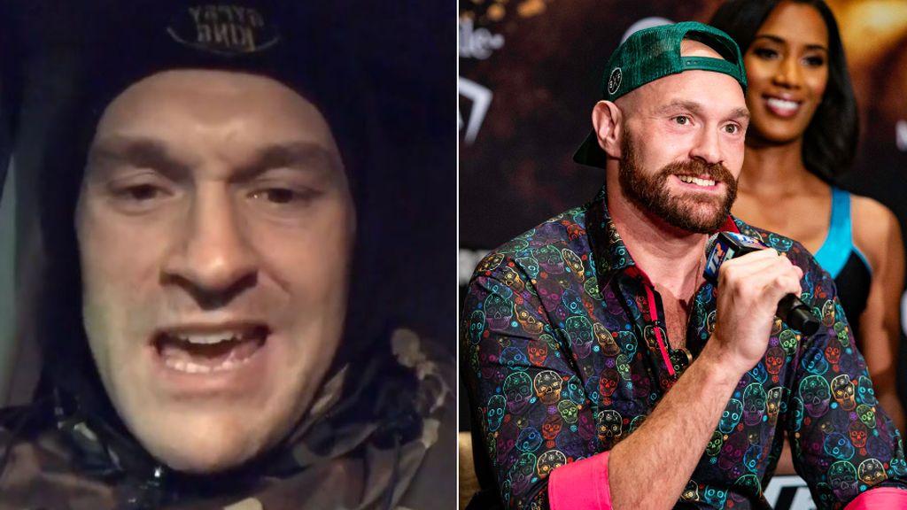 """Tyson Fury anuncia que salvó la vida a un hombre que se iba a suicidar: """"Le convencí y le llevé a correr tres millas"""""""