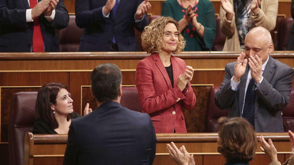 Casado, Abascal y Arrimadas cargan contra Batet por los juramentos de los independentistas